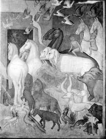 Alttestamentliche Szenen — Einzug der Tiere in die Arche