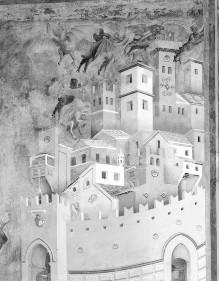 Franzlegende — Die Befreiung der Stadt Arezzo von den Dämonen