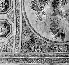 Decken- und Wanddekoration — Deckendekoration mit Himmelfahrt Mariens