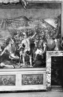 Innendekoration — Siege der Medici und Rittern des Stephansordens bei Bona und Prevesa — Die Schlacht von Prevesa