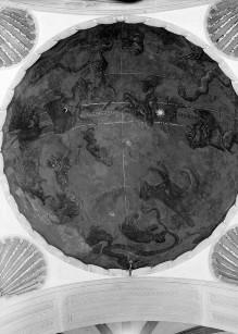 Darstellung der astronomischen Konstellation vom 4./5. Juli 1442