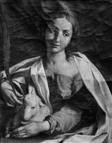 Zehn Heilige — Heilige Agnes