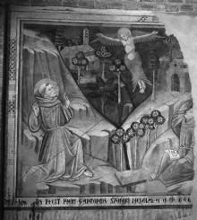 Die Stigmatisation des heiligen Franziskus von Assisi