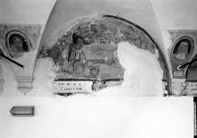 Wand- und Deckendekoration — Szene aus dem Leben der heiligen Agnes