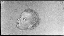 Kopfstudie eines kleinen Jungen