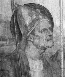 Vier Heilige — Die Heiligen Erasmus und Hieronymus