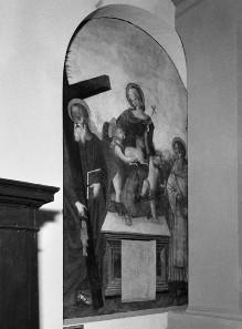 Die Madonna mit dem Kind, dem Johannesknaben, dem Heiligen Andreas und dem Heiligen Ägidius