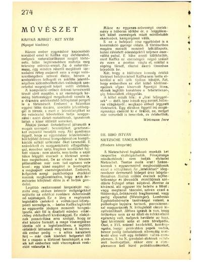 Dr. Bibó István Nietzsche tanulmánya