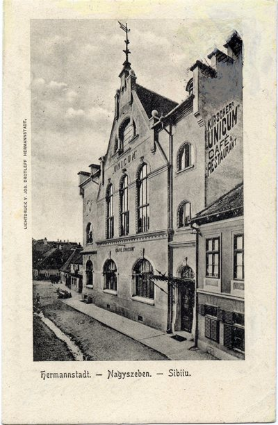 Hermannstadt - Nagyszeben - Sibiiu