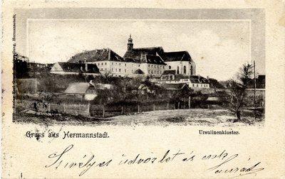Gruss aus Hermannstadt. Ursulinenkloster