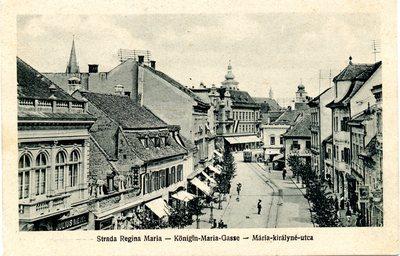 Strada Regina Maria - Konigin Maria Gasse - Maria kiralyne utca