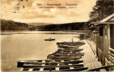 Sibiu - Hermannstadt - Nagyszeben. Lacul Dumbravei - Waldsee - Erdoi to