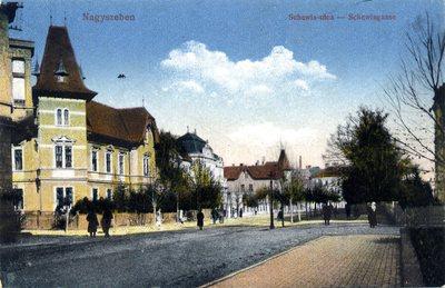 Nagyszeben. Schewis utca - Schewissgasse