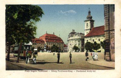 Piata Regele Ferdinand - Konig Ferdinand Ring - Ferdinand kiraly ter