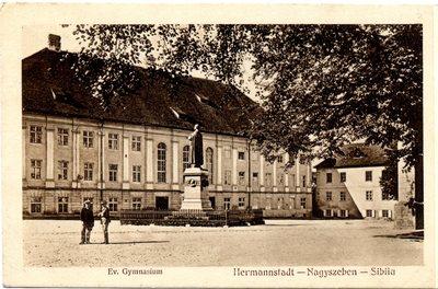 Hermannstadt - Nagyszeben - Sibiiu. Evangelische Gymnasium