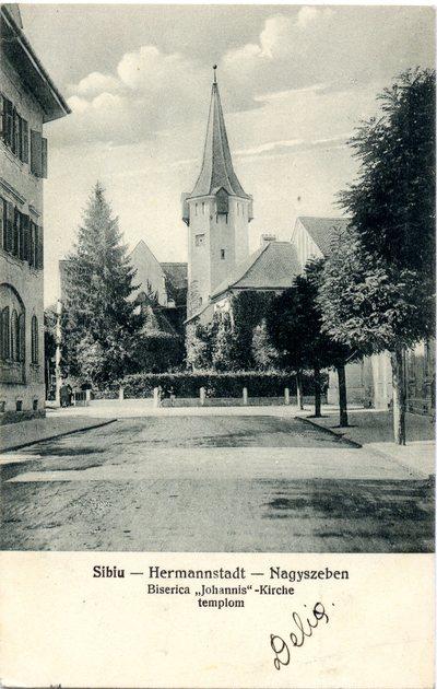 Sibiu - Hermannstadt - Nagyszeben. Biserica Johannis - Johannis Kirche - Johannis templom