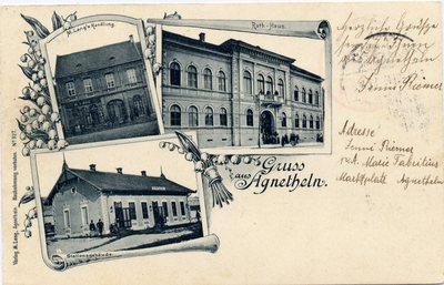 Gruss aus Agnetheln. [Sibiu - Agnita]
