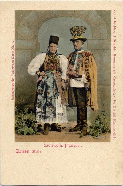 Sachsisches Brautpaar
