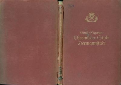 Chronik der Stadt Hermannstadt