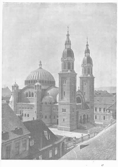 Biserica Catedrala dela Mitropolia Ortodoxa Romana în Sibiiu: Istoricul zidirii (1857-1906)(imagini)