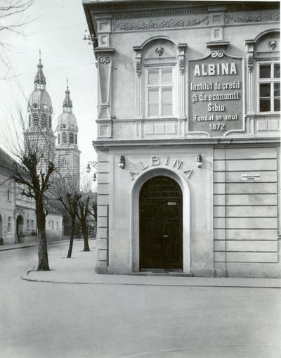 Albina - Institutul de credit si economii Sibiu