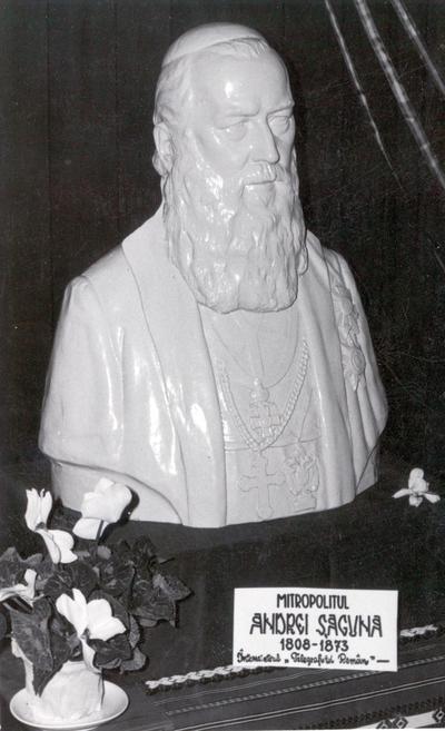 Mitropolitul Andrei Saguna - bust