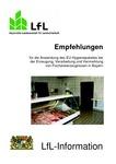 ˜Empfehlungen für dieœ Anwendung des EU-Hygienepaketes bei der Erzeugung, Verarbeitung und Vermarktung von Fischereierzeugnissen in Bayern
