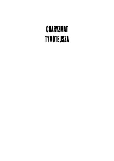 Charyzmat Tymoteusza