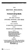 The British Melodist or National song book (etc.)