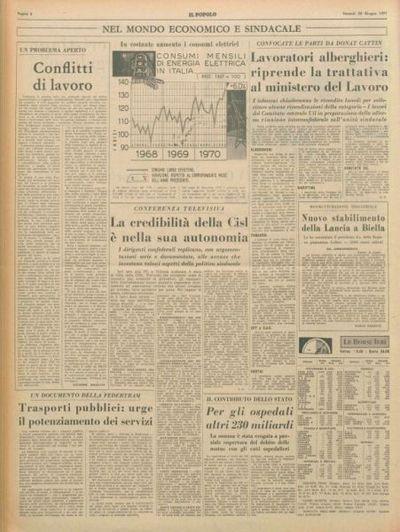 Moro illustra l'azione italiana per una concreta politica di pace