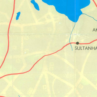 Ankara'nın yerleşim alanları ve turistik yerleri