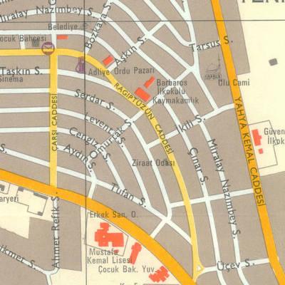 Ankara şehir planı