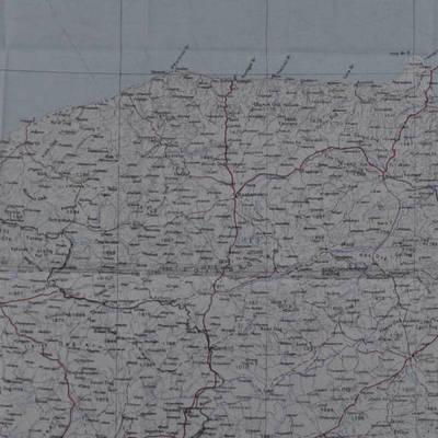 Ankara'nın güneyini gösteren idari harita