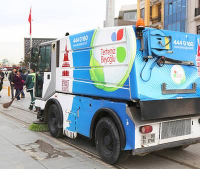 Sokak Temizleme Aracı