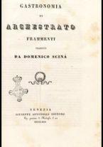 Gastronomia / di Archestrato ; frammenti tradotti da Domenico Scinà