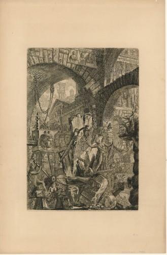 [Carcere] VI / [gravirao Giovanni Battista] Piranesi.