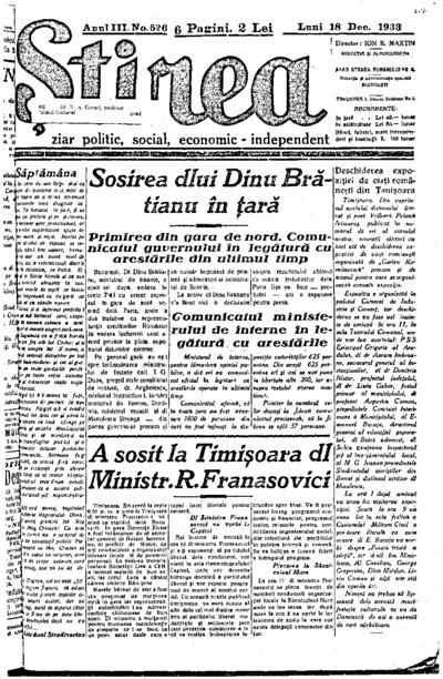 Știrea, Anul III, Nr. 525