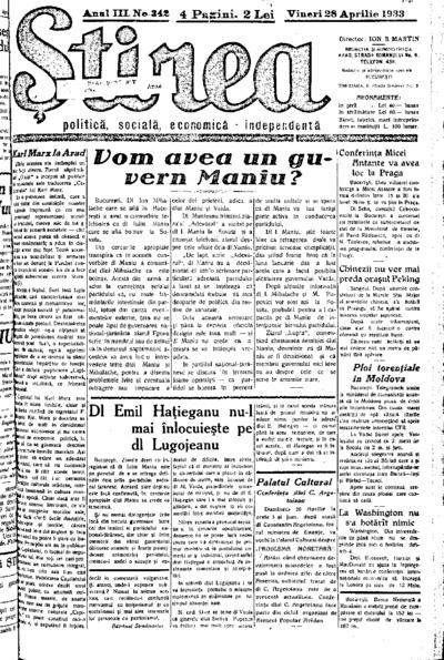 Știrea, Anul III, Nr. 342