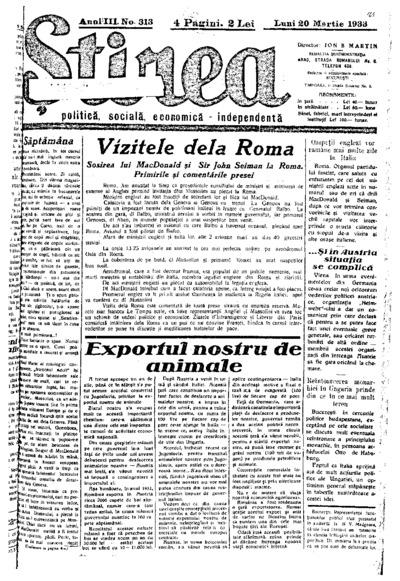 Știrea, Anul III, Nr. 313