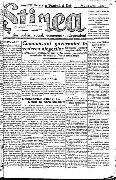 Știrea, Anul III, Nr. 527