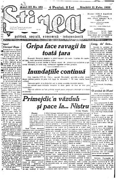 Știrea, Anul III, Nr. 281