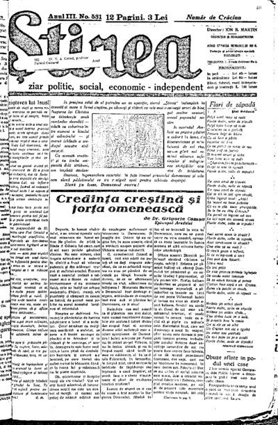 Știrea, Anul III, Nr. 530