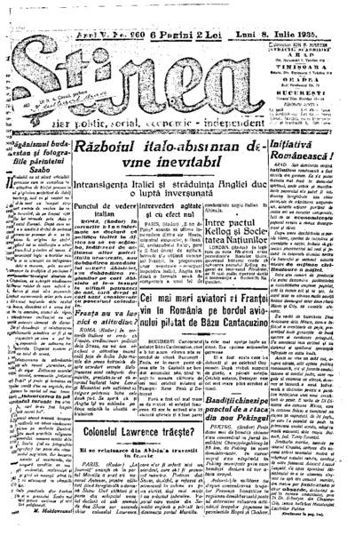 Știrea, Anul V, Nr. 960