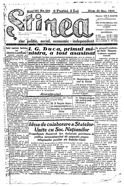 Știrea, Anul III, Nr. 533