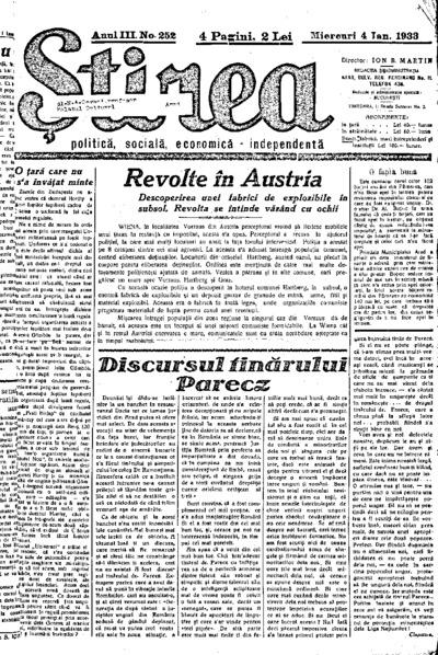Știrea, Anul III, Nr. 252