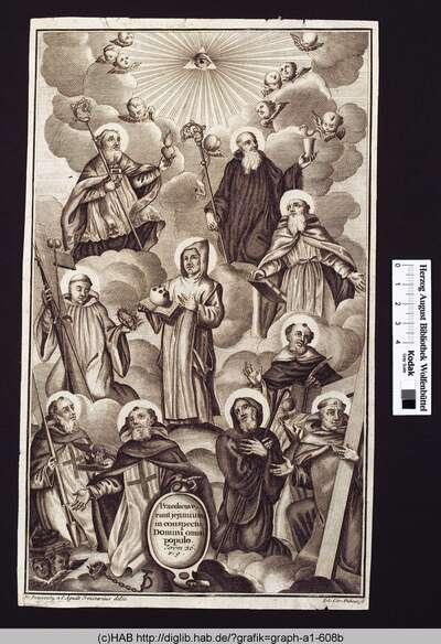 Erhöhung von zehn Heiligen.