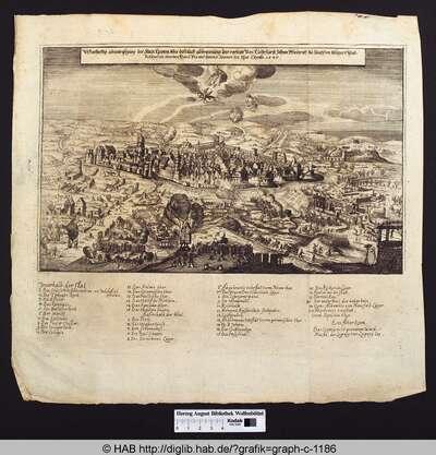 Wahrhaftig abcontrafeyung der Stadt Leipzig, wie die nach abbrennung der vorstädt Von Churfürst Johan Friederich zu Sachßen belegert und beschoßen worden, Von 6. bis uff den 27. Jenner im Jhar Christi 1547
