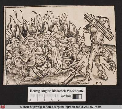 Auf Geheiß der Herzöge Balthazar und Mangen werden Eleazar und seine jüdischen Verwandten verbrannt, da sie der Schmähung Christi und des christlichen Glaubens bezichtigt werden.