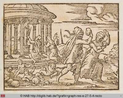 Deucalion und Pyrrha.