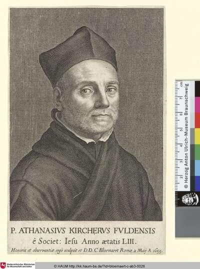 P. Athanasius Kircherus Fuldensis